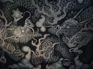 建仁寺の天井絵