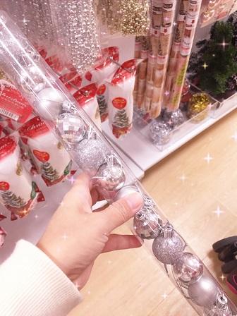 100円ショップのクリスマスアイテム